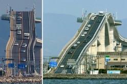 สะพานเอชิมะ สะพานสูงสุดชัน จนได้ฉายาว่า สะพานรถไฟเหาะ