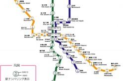 แผนที่รถไฟฟ้าซัปโปโร – ฮกไกโด (Metro และ JR)